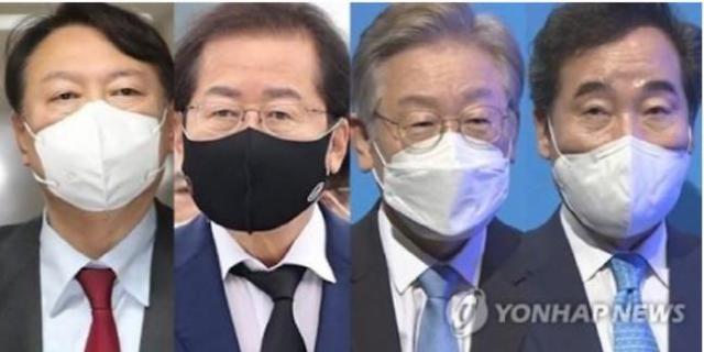 [이주의 여론조사] '대장동 의혹'에도 이재명 선두, 윤석열‧홍준표‧이낙연 순