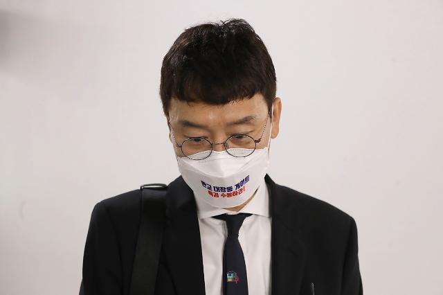 """김웅 """"조성은과 통화 기억 안나…대장동 은폐 위한 공작"""""""