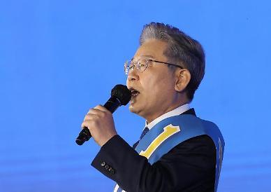 이재명, 최종 50.29% 지지 획득...민주당 대선 후보 선출