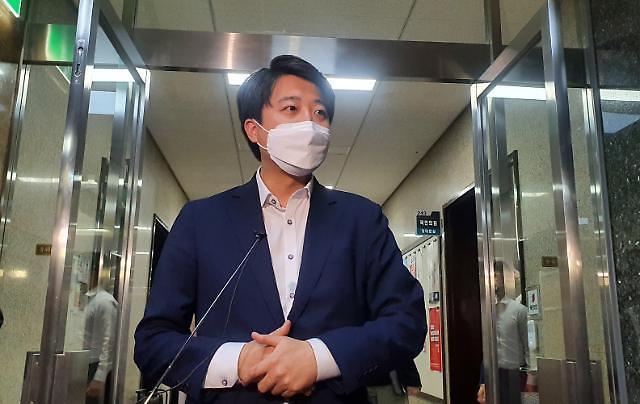 """이준석, 與 대선후보 선출된 이재명에 """"축하드리고, 안전벨트 매시라"""""""