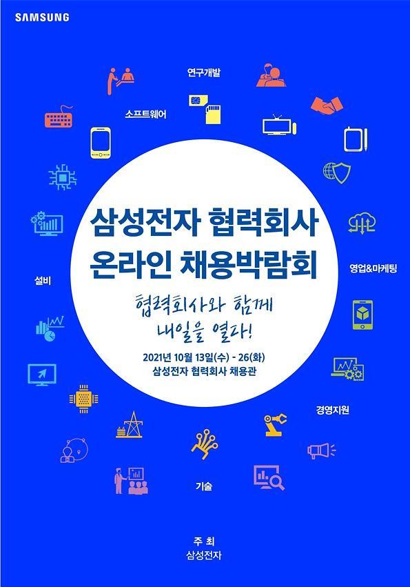 삼성전자, 53개 협력회사와 일자리 창출...온라인 채용박람회