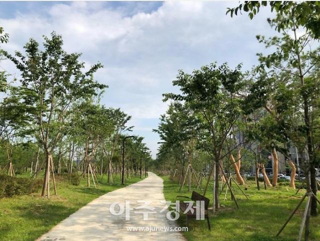 화성시 동탄미세먼지 차단숲,  '한국조경학회장상' 수상 쾌거
