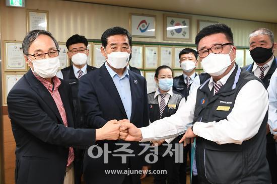 """윤화섭 시장, """"민영제 기반 노선버스 문제 해소 대중교통 공공성 강화할 것"""""""