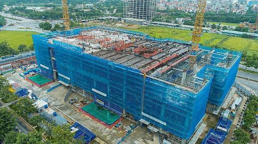 Trung tâm R&D của Samsung Việt Nam hoàn thành 50% tiến độ xây dựng bất chấp Covid-19