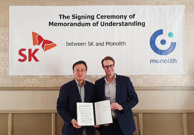 SK, 미국 모놀리스와 합작법인 설립···국내 청록수소 시장 선점 나선다