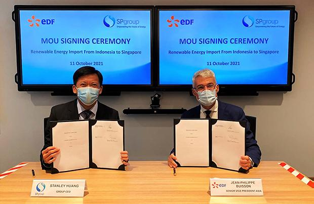 [NNA] 싱가포르 SP그룹, 신재생에너지 공급 위해 EDF와 업무제휴