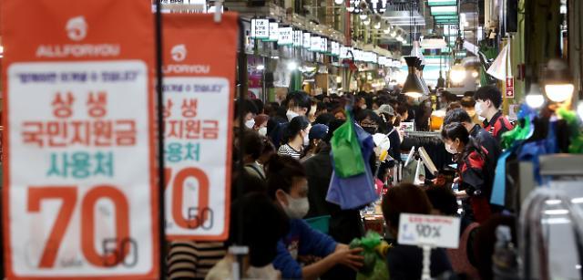 국민지원금 이의신청 19만명 추가 지급…지자체 자체지급 활발