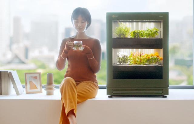 LG전자, 또 '신가전의 신세계' 활짝...식물생활가전 'LG 틔운' 출시