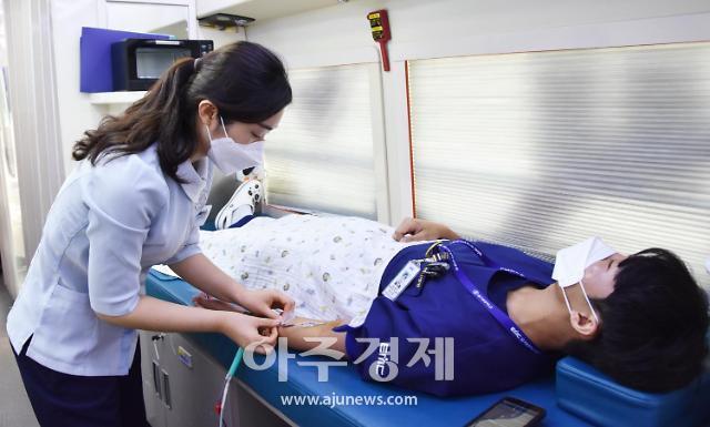 의정부 을지대병원, 코로나19 극복 헌혈 캠페인 동참