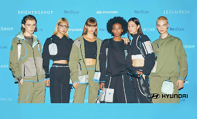 Hyundai Motor upcycles discarded car materials into fashion items