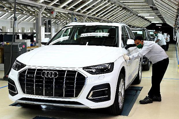 [NNA] 아우디, SUV 'Q5' 페이스리프트, 印에서 생산개시