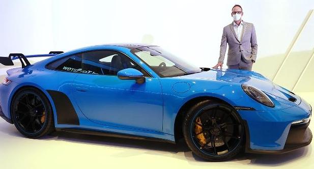 신형 포르쉐 911 GT3, 이런 모습