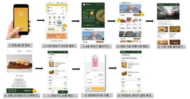 인천시, 천국 최초로 전통시장 e음 장보기  18일부터 본격 운영 나서
