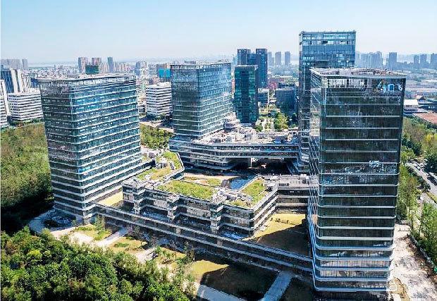 [NNA] 미쓰비시지쇼와 캐피탈랜드, 杭州 오피스빌딩 완공