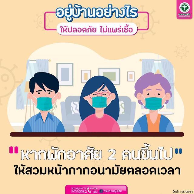 [NNA] 태국 감염자 1.1만명, 이틀 연속 1만명 넘어(14일)