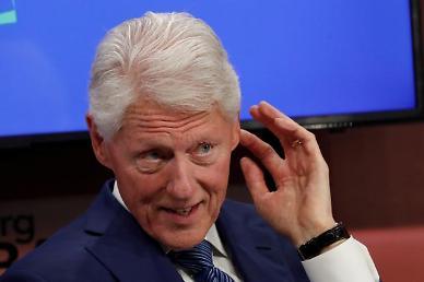 [종합] 빌 클린턴, 중환자실 입원에도 생명 지장 없어...패혈증서 회복 중