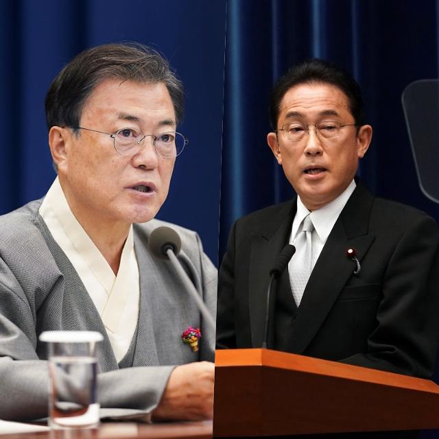 [종합] 문 대통령, 기시다 일본 총리와 첫 통화…대북 공조 등 논의 가능성