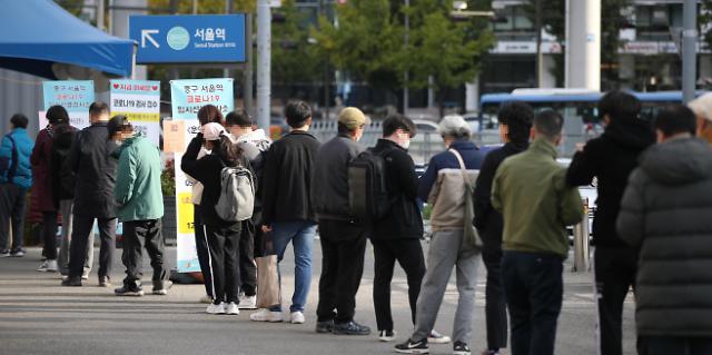 韩国新增1050例新冠确诊病例 累计343445例