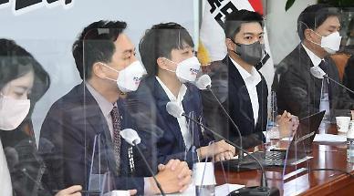 """이준석, '부정 경선' 황교안 겨냥해 """"과도한 의혹제기 엄단"""""""