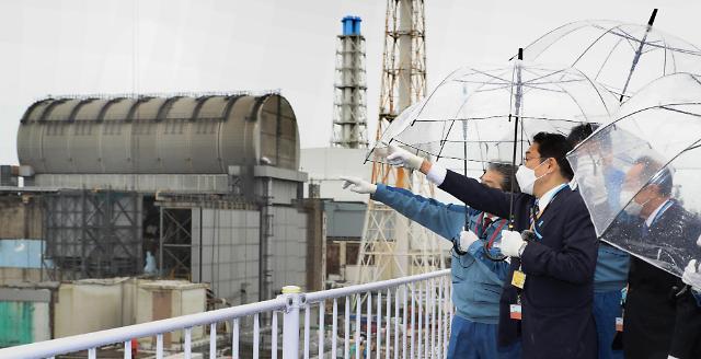 기시다 일 총리, 원전 오염수 해양 방류 추진 확인
