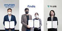 現代自・起亜、ハナ銀行・Findaとコネクテッドカー金融商品の開発に着手