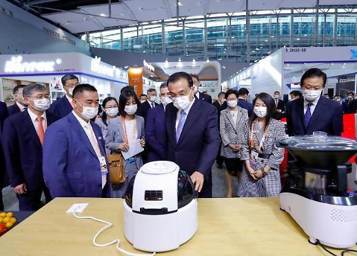 第130届广交会在广州开幕 中国总理李克强发表主旨演讲