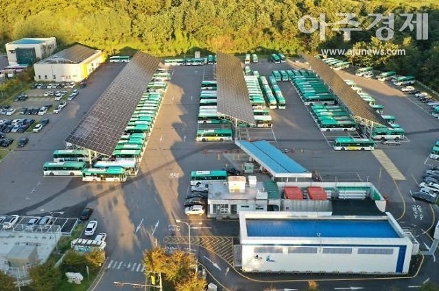 수원시, 동부버스차고지...선도적인 친환경 에너지 클러스터로 탈바꿈