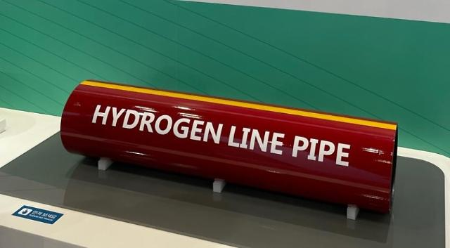 POSCO develops large-diameter pipes for hydrogen transportation