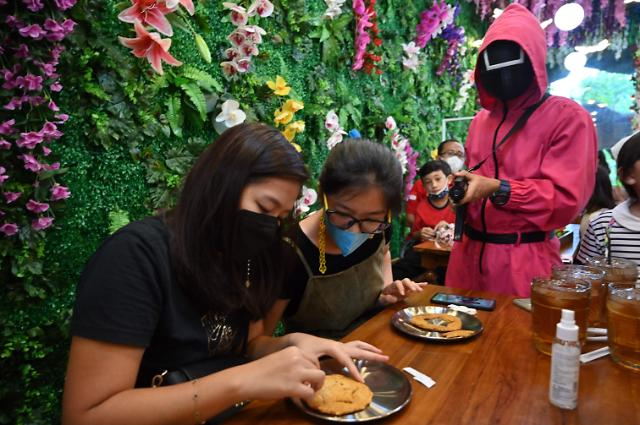[포토] 인도네시아도 오징어게임 열풍