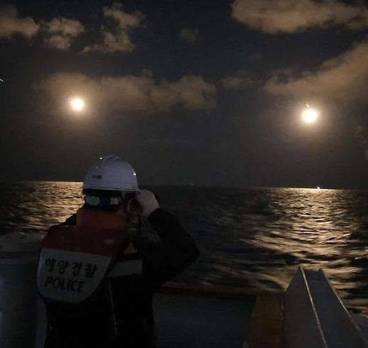 中国渔船在韩西部海域沉没 7人失踪