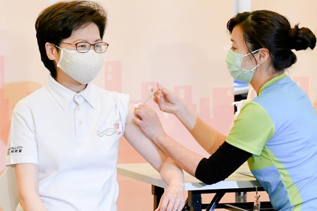 [NNA] 캐리 람 홍콩 행정장관 관저에서 넘어져 골절상 입어