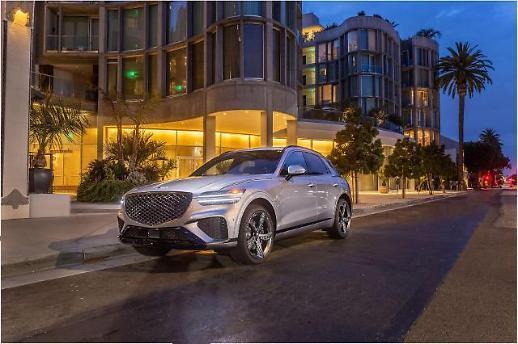 现代捷尼赛思GV70被选为2022年度MotorTrend SUV