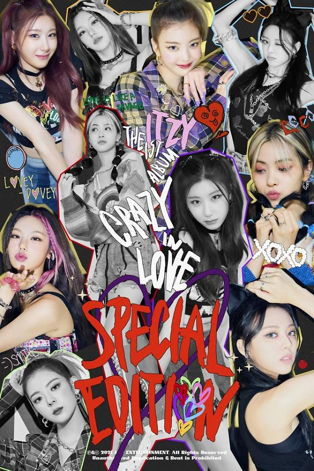 K-pop girl band ITZY to release special edition of Crazy in Love