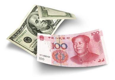 중국 위안화 고시환율(22일) 6.4032위안...가치 0.22% 하락