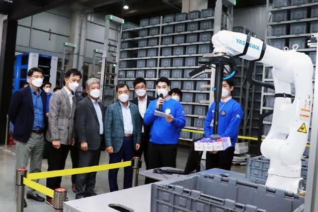 CJ Logistics reveals plan to become AI and big data-based logistics technology company