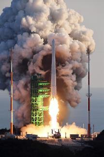 """首次完全自研!韩运载火箭""""世界""""号发射成功"""