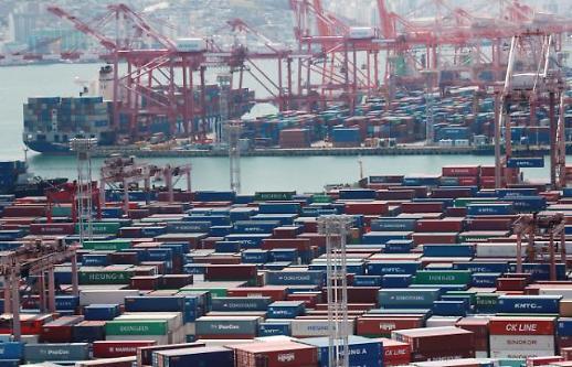 韩国10月前20天出口同比增36.1%