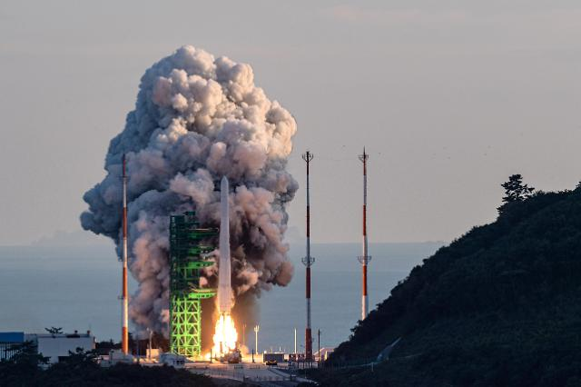 S. Korea launches home-made 3-stage rocket into space