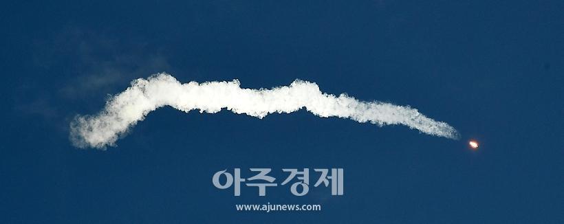 첫 한국형 발사체 누리호 발사 순간