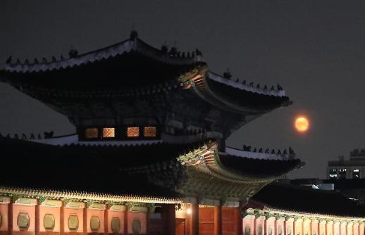 景福宫夜游