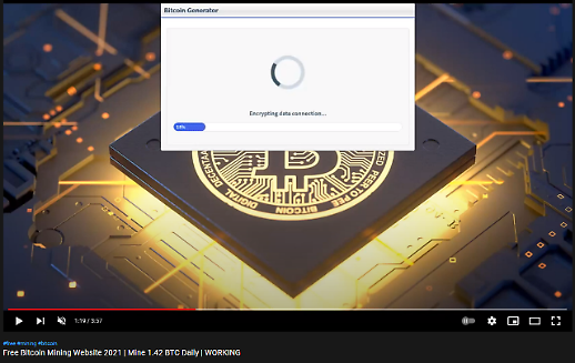 유튜브에서 봤던 비트코인 생성기, 사실은 개인정보 유출기