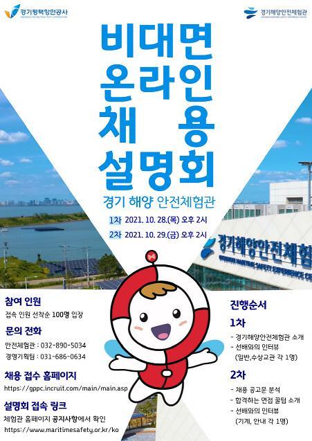 경기평택항만공사, 28~29일 온라인 채용 설명회 개최