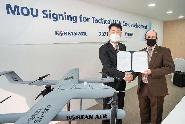 Korean Air works with Boeing subsidiary to develop vertical take-off and landing UAV
