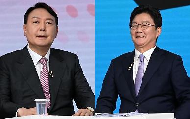 """유승민 """"캠프 운영하는데도 실수 연발 사람 잘 쓰나?"""" 윤석열 """"…"""""""