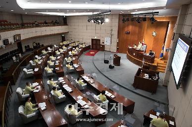 군산시의회, 제241회 임시회 폐회