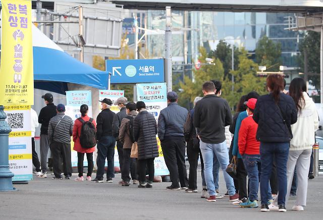 韩国新增1423例新冠确诊病例 累计351899例