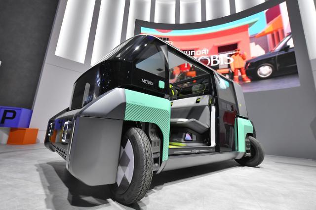 현대모비스, 90도 회전 차세대 바퀴 기술 개발 성공...2025년 자율주행에 적용한다