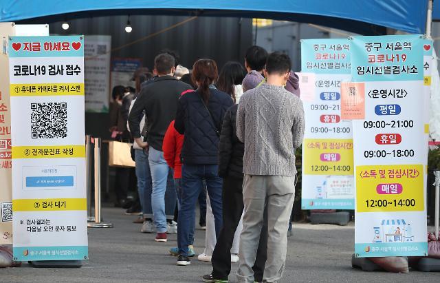 [슬라이드 뉴스] 신규확진 1423명...주말에도 선별검사소 운영