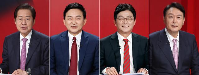 [핫뷰] 野 경선 '운명의 한 주'…원희룡·유승민·윤석열·홍준표 전략