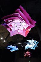 LG電子のOLED TV、英国で「メディアアート」展示